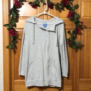Simply Vera zip up hoodie jacket